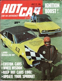 Hot Car July 1972 Update Your Spridget