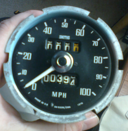 SpridgetGuru com-Tech Index-Smiths Speedometer