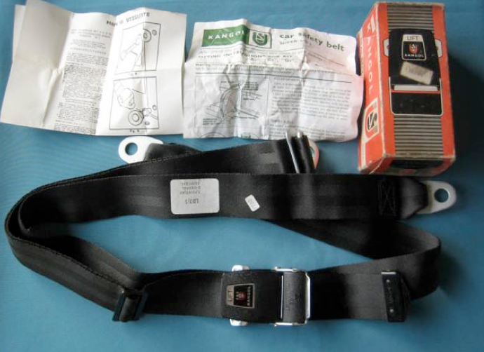 Spridgetguru Com Tech Index Kangol Magnetic Seatbelts