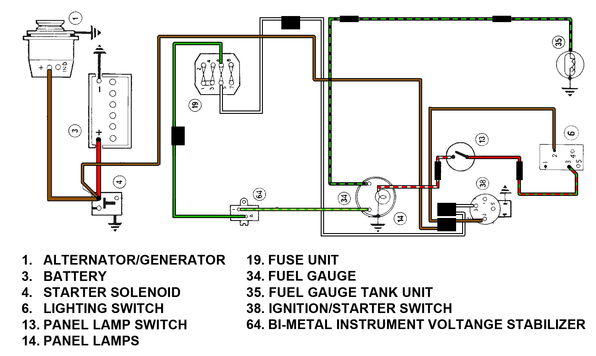 index fuel gauge wiring diagram. Black Bedroom Furniture Sets. Home Design Ideas